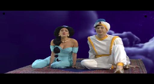 Aladdin Took Jasmine Out On SNL